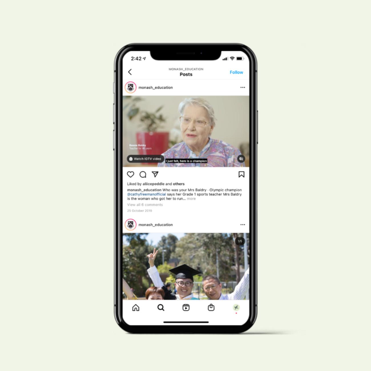 Monash University social media strategy